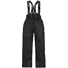 Buy Skogstad Children's Panther Tord 2 Layer Trousers, Black Online at johnlewis.com