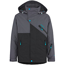Buy Skogstad Boys' Tystig Double Layer Jacket, Charcoal/Grey Online at johnlewis.com