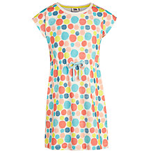 Buy Kin by John Lewis Girls' Spot Jersey Dress, Multi Online at johnlewis.com