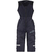 Buy Skogstad Children's Ice Salopette Trousers, Navy Online at johnlewis.com