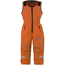 Buy Skogstad Children's Ice Salopette Trousers, Orange Online at johnlewis.com