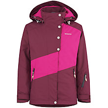 Buy Skogstad Girls' Joste Briksdal Two Layer Jacket, Plum Online at johnlewis.com