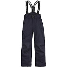 Buy Skogstad Children's Panther Tord Insulated Waterproof Salopette Trousers, Navy Online at johnlewis.com