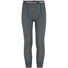 Buy Skogstad Boys' Raudnova Wool Base Layer, Set of 2, Grey/Green Online at johnlewis.com