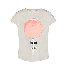 Buy Kin by John Lewis Girls' Short Sleeved Balloon T-Shirt Online at johnlewis.com