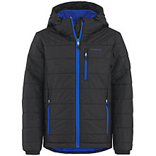 Buy Skogstad Boy's Nuken Primaloft Jacket, Black/Blue Online at johnlewis.com