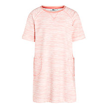 Buy Kin by John Lewis Girls' Fine Stripe Sweatshirt Dress, Peach Online at johnlewis.com