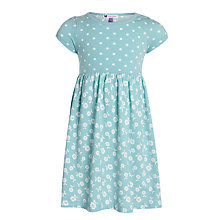Buy John Lewis Girl Spot & Floral Print Jersey Dress Online at johnlewis.com