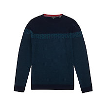 Buy Ted Baker Cowden Jacquard Pattern Jumper Online at johnlewis.com