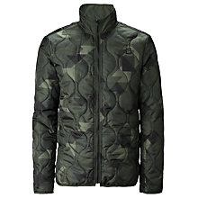 Buy G-Star Raw Nolker Camouflage Padded Jacket, Dark Combat Online at johnlewis.com