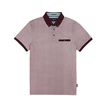 Buy Ted Baker Wooksee Printed Polo Shirt Online at johnlewis.com