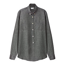 Buy Jigsaw Button Down Cotton Shirt Online at johnlewis.com