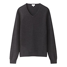 Buy Jigsaw Milano Wool V-Neck Jumper Online at johnlewis.com