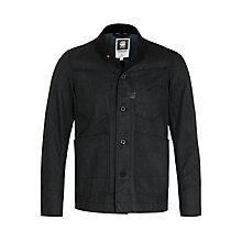 Buy G-Star Raw A Crotch Varsity Blazer, Black Online at johnlewis.com