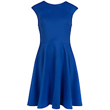 Buy Ted Baker Panelled Skater Dress, Bright Blue Online at johnlewis.com