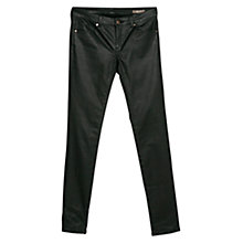 Buy Mango Skinny Belle Jeans, Black Online at johnlewis.com
