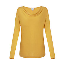 Buy Jigsaw Luxury Blend Cowl Neck Sweatshirt Online at johnlewis.com
