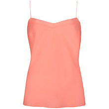 Buy Ted Baker Scalloped Edge Camisole, Bright Blue Online at johnlewis.com