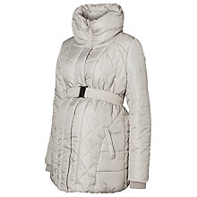 Buy Mamalicious Yasmin Padded Winter Maternity Jacket, Ivory Online at johnlewis.com