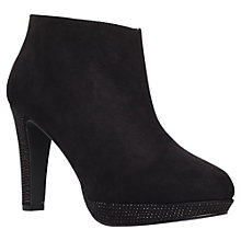 Buy Miss KG Brianne Suedette High Block Heel Platform Shoe Boots Online at johnlewis.com