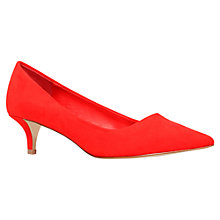 Buy Miss KG Collette Stiletto Court Shoes, Red Online at johnlewis.com