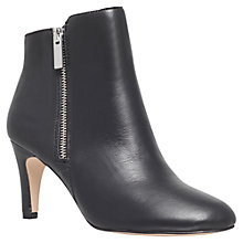 Buy Miss KG Sage Leather High Heel Ankle Boots, Black Online at johnlewis.com