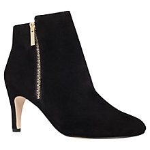 Buy Miss KG Sage Suede Ankle Boots, Black Online at johnlewis.com
