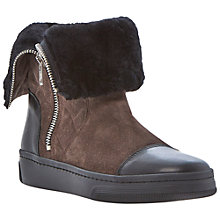 Buy Dune Black Pingoo Suede Boots, Brown Online at johnlewis.com
