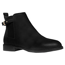 Buy Miss KG Sammy Flat Ankle Boots, Black Online at johnlewis.com
