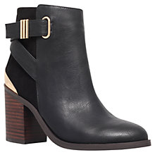 Buy Miss KG Shola High Heel Ankle Boots, Black/ Brown Online at johnlewis.com