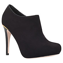 Buy Miss KG Barrie Suede Ankle Boots, Black Online at johnlewis.com