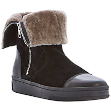 Buy Dune Black Pingoo Suede Boots Online at johnlewis.com