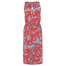 Buy Oasis Oriental Print Midi Dress, Multi Online at johnlewis.com