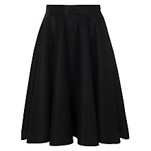 Buy French Connection Flared Skirt, Black Online at johnlewis.com