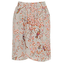 Buy Oasis Botanical Wrap Skirt, Multi/Natural Online at johnlewis.com