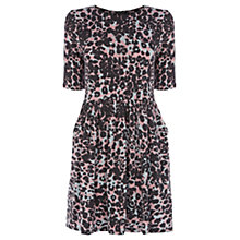 Buy Warehouse Animal Print Day Dress, Multi Online at johnlewis.com