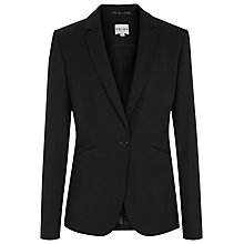 Buy Reiss Larke Slim Tailored Jacket, Black Online at johnlewis.com