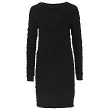 Buy French Connection Rocky Road Sweat Dress, Black Online at johnlewis.com
