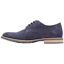 Buy Rockport Ledge Hill Two Plintoe Leather Oxford Shoes, Navy Online at johnlewis.com