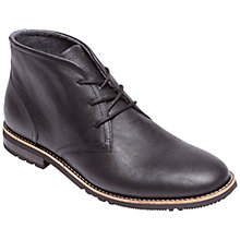 Buy Rockport Ledge Hill Two Chukka Boots, Black Online at johnlewis.com