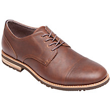 Buy Rockport Ledge Hill Two Leather Toe Cap Shoes, Tan Online at johnlewis.com