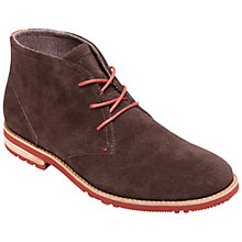 Buy Rockport LH2 Chukka Driftwood Boots, Raven Online at johnlewis.com