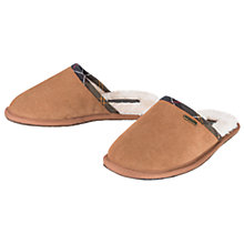 Buy Barbour Leigh Suede Slippers, Camel Online at johnlewis.com