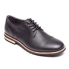 Buy Rockport Ledge Hill Oxford Shoes, Black Online at johnlewis.com