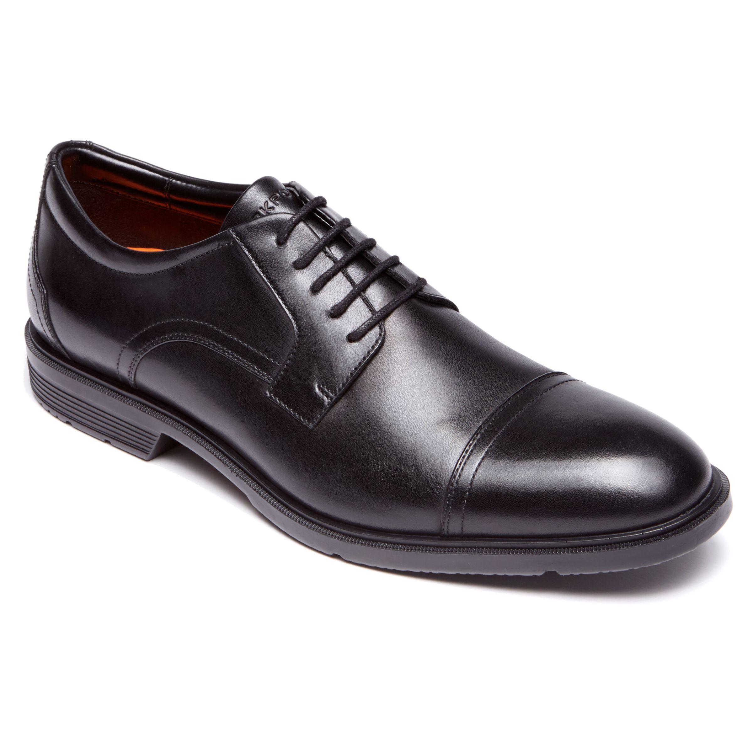 Rockport Rockport City Smart Toe Cap Derby Shoes, Black