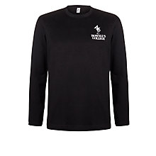 Buy Howell's School Girls' Long Sleeved T-Shirt, Black Online at johnlewis.com