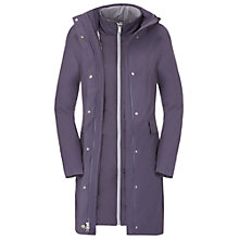 Buy The North Face Suzanne Triclimate Trench Coat, Blue Online at johnlewis.com