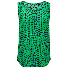 Buy Jaeger Spot Silk Top Online at johnlewis.com