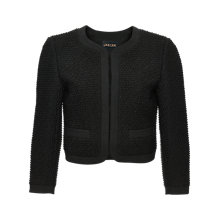 Buy Jaeger Cropped Boucle Jacket Online at johnlewis.com
