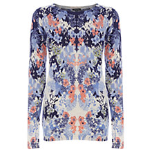 Buy Warehouse Palamino Printed Jumper, Multi Online at johnlewis.com